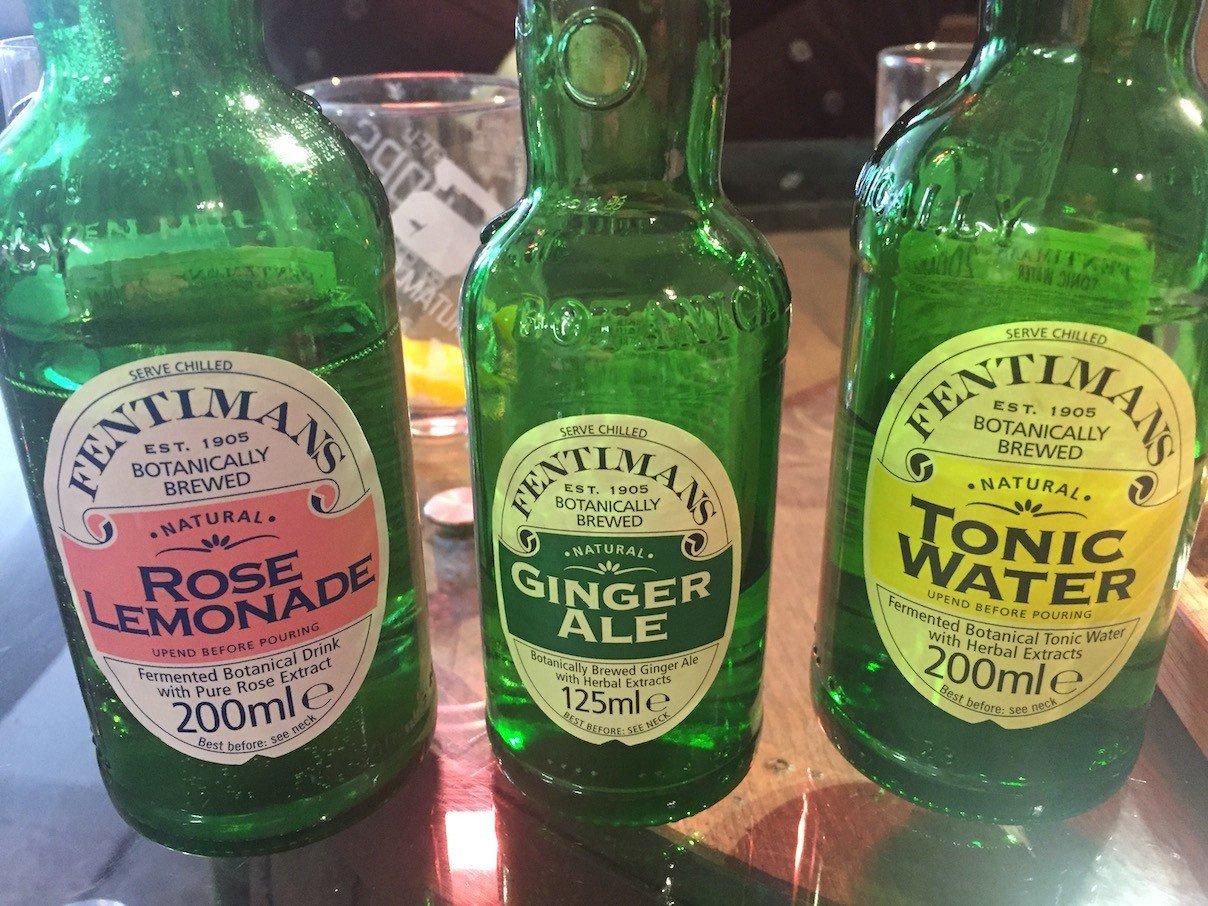 Softdrinks zum Gin mixen bei Eden Mill