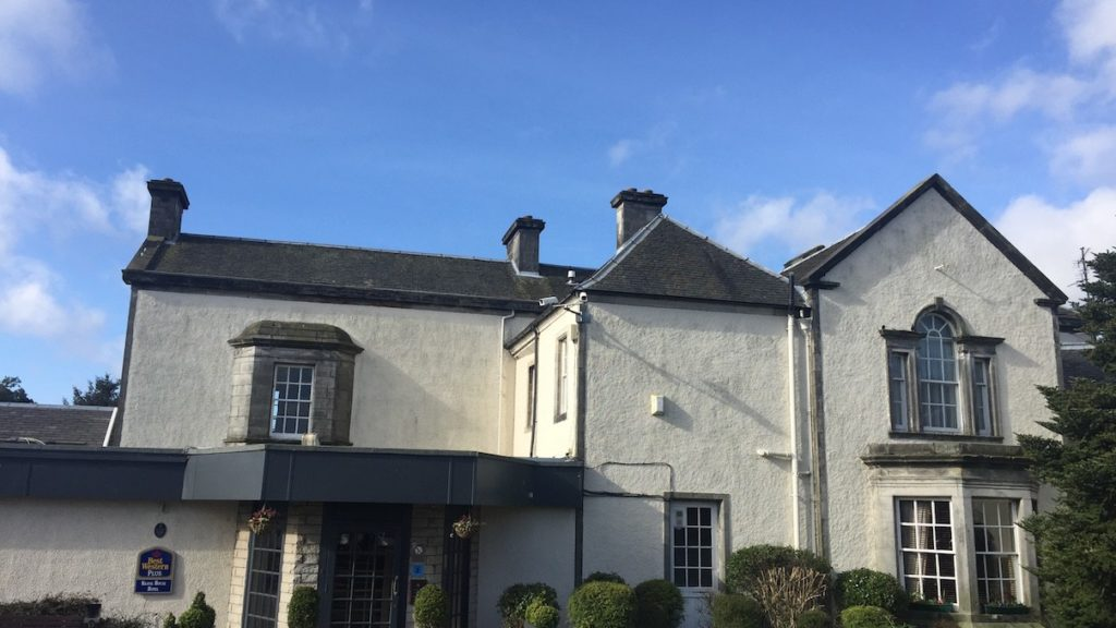 Das Keavil House Hotel in Crossford, Dunfermline in Fife