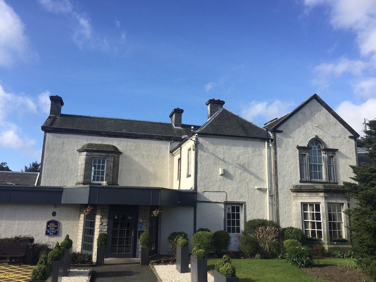 Das Keavil House Hotel in Crossford, Dunfermline in Fife