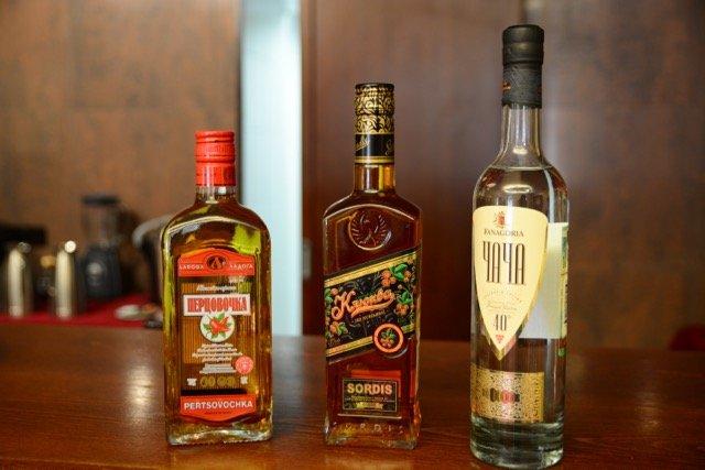 Drei Sorten Wodka haben für einen Schwips gereicht