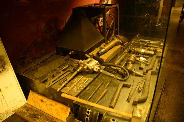 Werkzeuge für den Eisenschiffbau