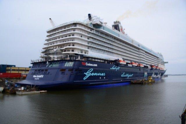 Die Mein Schiff 5 stand im Mai kurz vor der Ablieferung