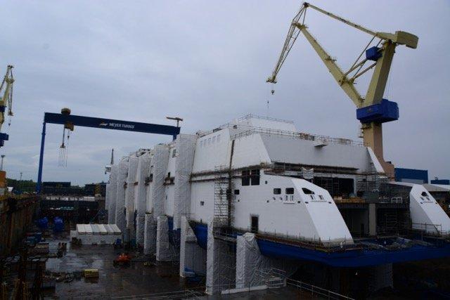 Kürzlich in Turku getauft: Die LNG-Fähre Tallink Megastar