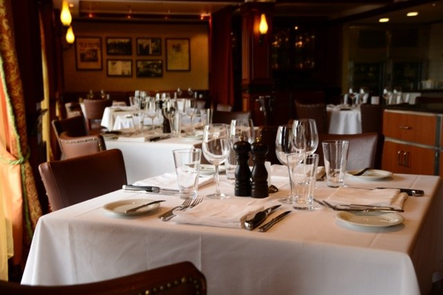 Auf keinem amerikanischen Kreuzfahrtschiff darf das Steakhouse fehlen
