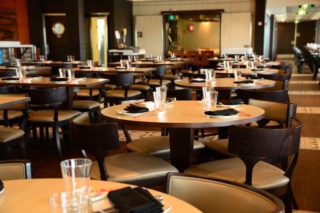 Das asiatische Restaurant Ginza