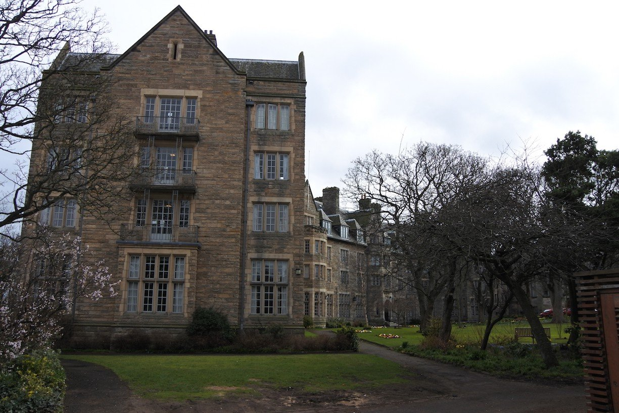 Gebaeude-in-der-University-of-St-Andrews
