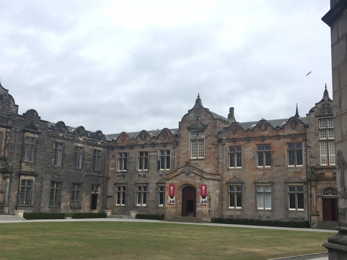 Hof der University of St Andrews