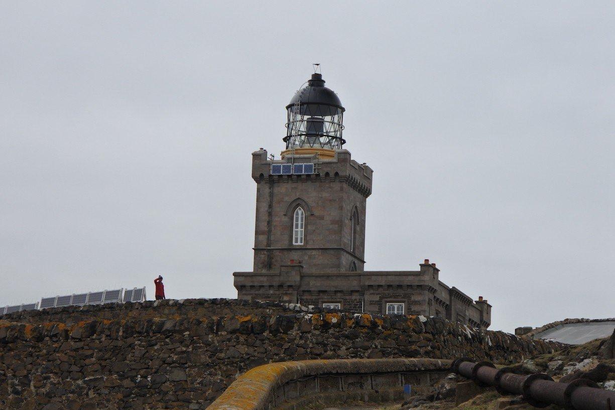 Der omnipräsente Leuchtturm auf der Isle of May