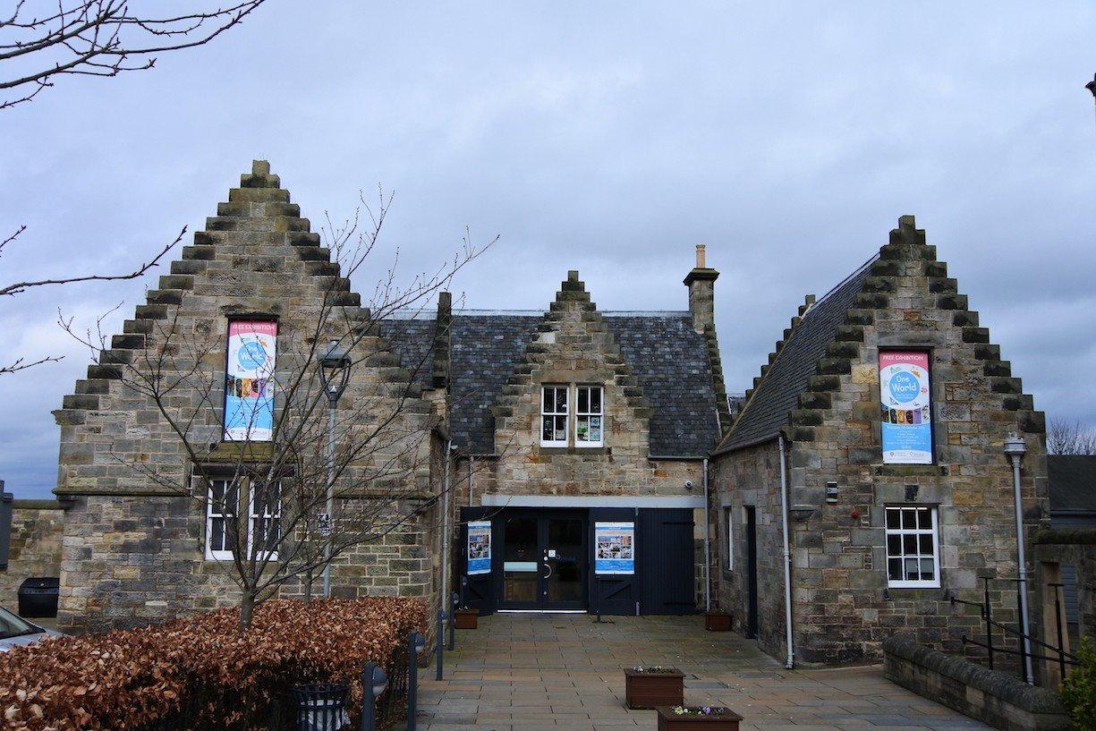 Das Museum der Universität von St Andrews