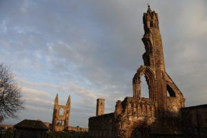 St Andrews Cathedral im Abendlicht (an einem anderen Tag ;))