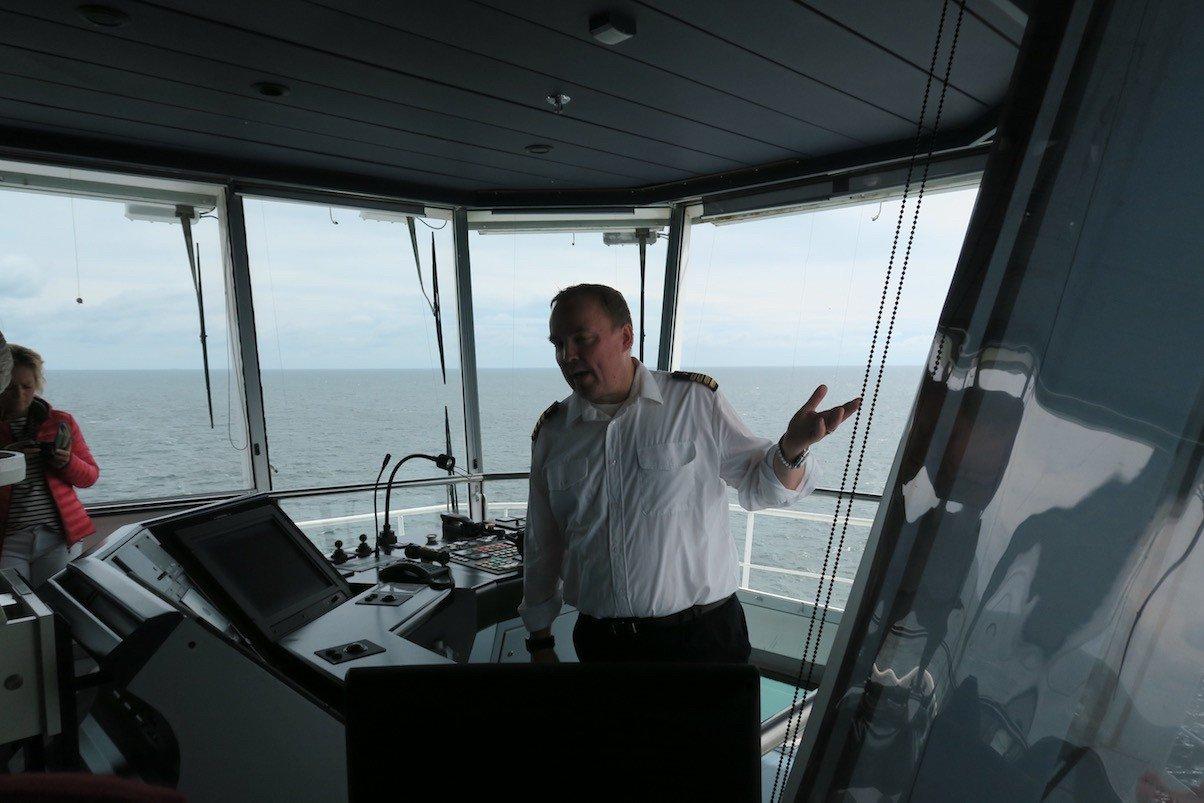 Jussi Auer, der Kapitän der Finnstar, nimmt Zeit für uns