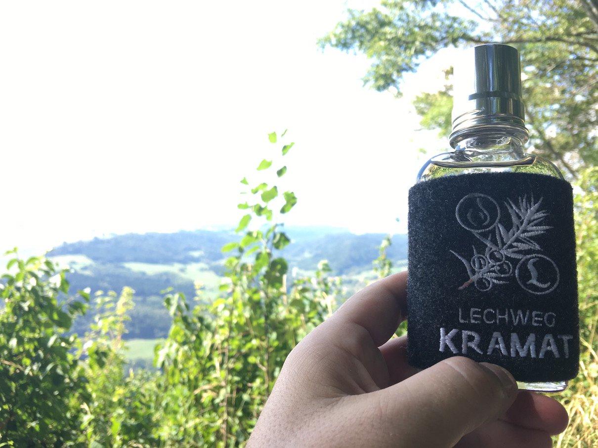 Lechweg Kramat - den hab ich mir auf dem Buchberg auch verdient!