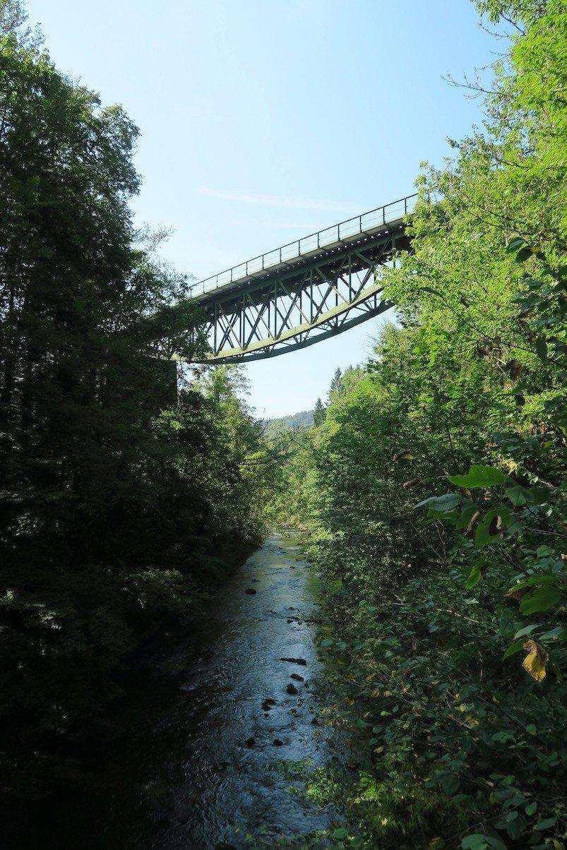 Die Wutachbrücke