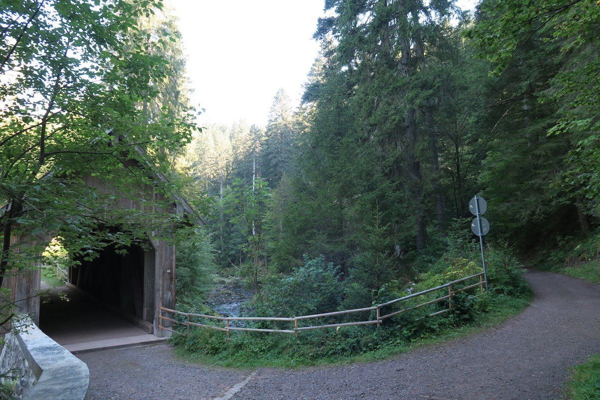 Brücke über die Wutach