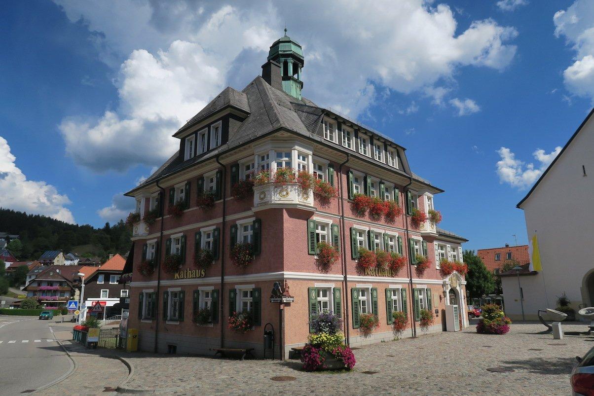 Rathaus von Lenzkirch