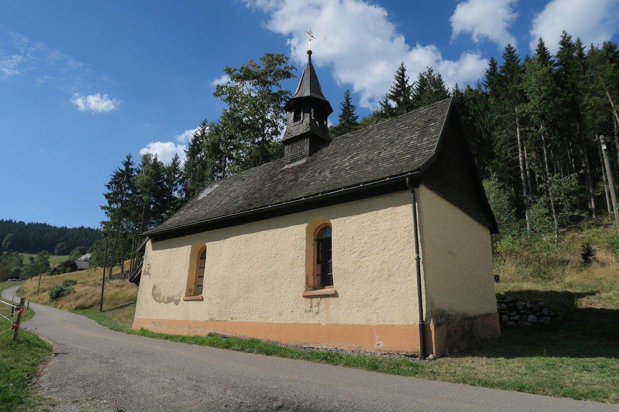 Kapelle auf dem Weg zwischen Lenzkirch und Fischbach