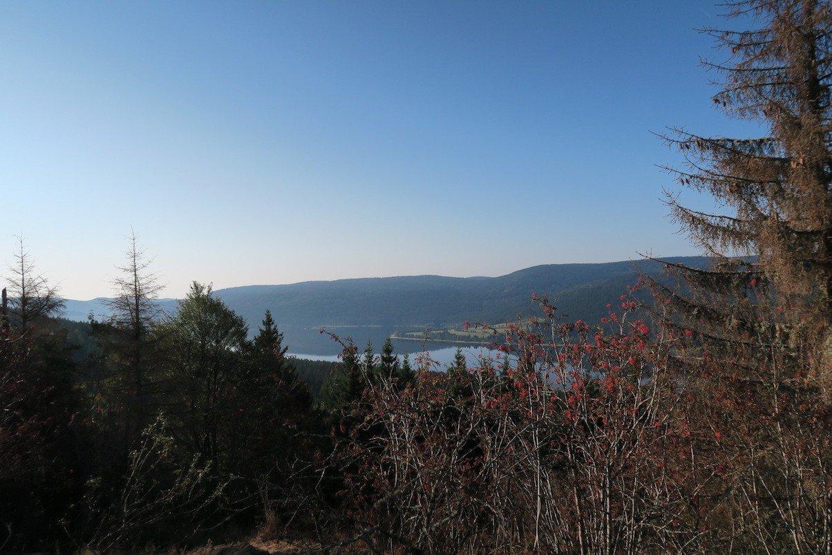 Ausblick auf den Schluchsee vom Bildstein
