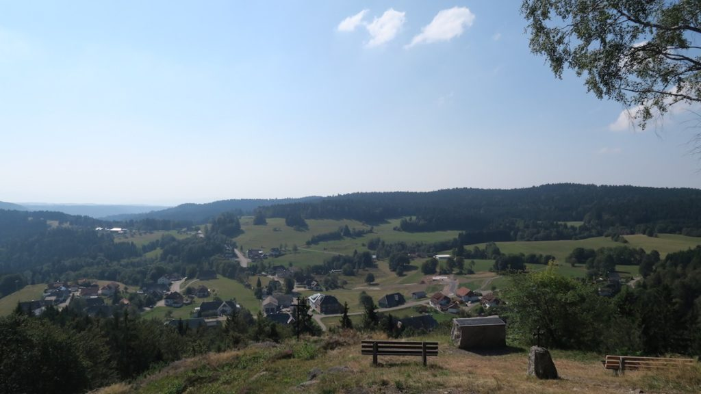 Tolle Aussicht von der Kreuzfelsenhütte
