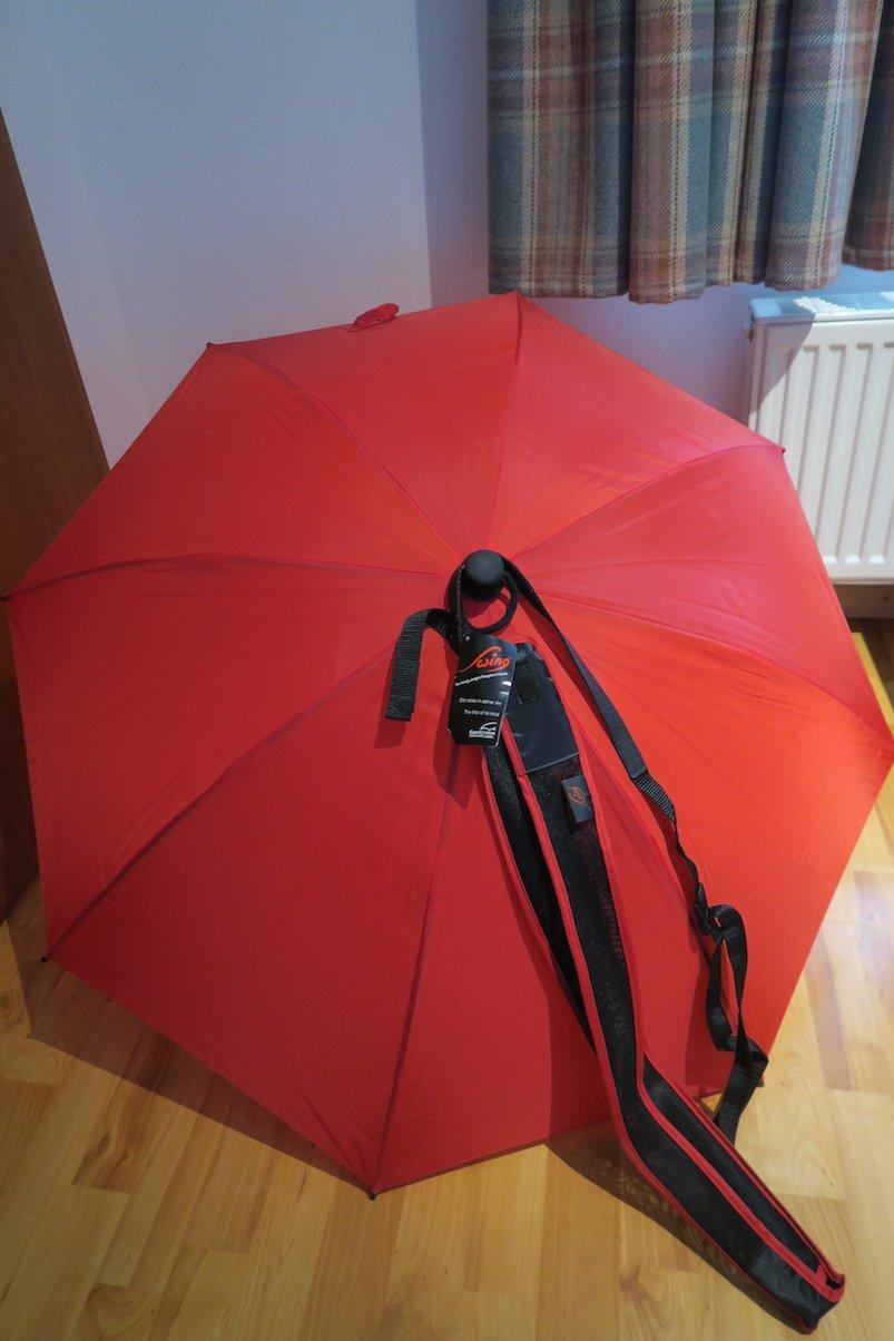 Gesponsorter Outdoor Regenschirm von EuroSchirm