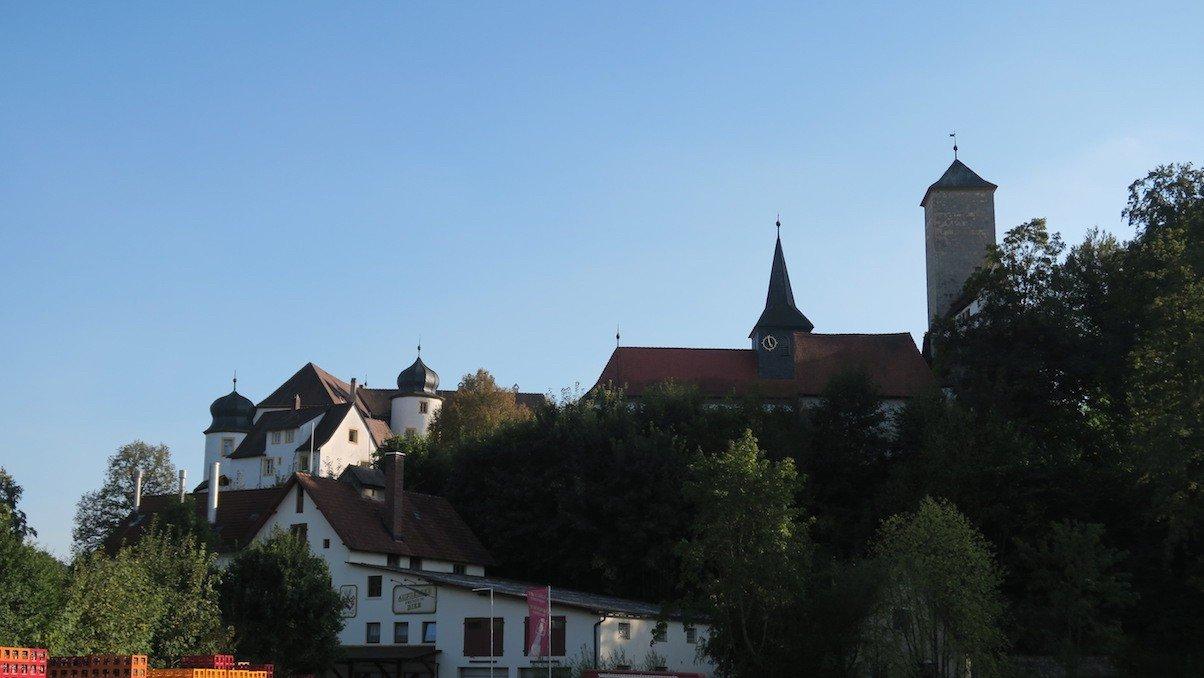 Die Burg ins Aufseß