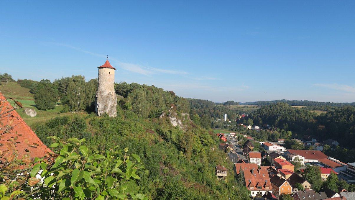 Steinernder Beutel - das Wahrzeichen von Waischenfeld