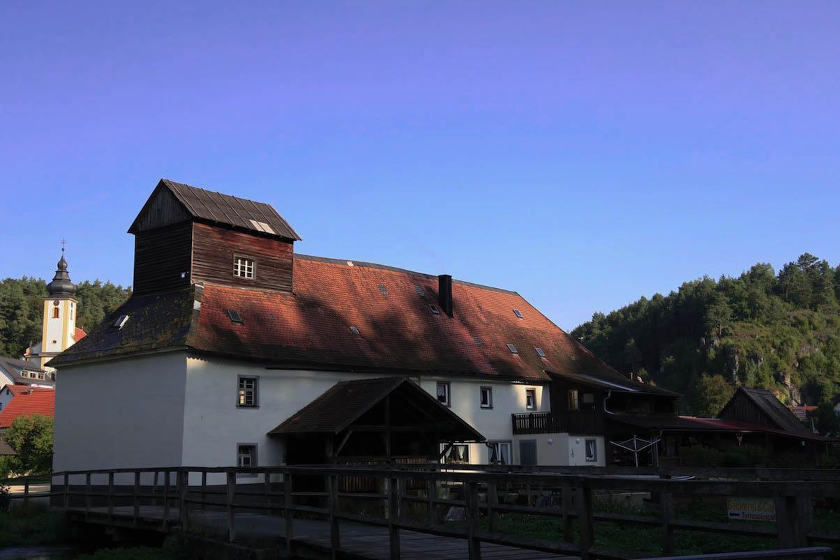 Mühle in Nankendorf auf dem Brauereiwanderweg