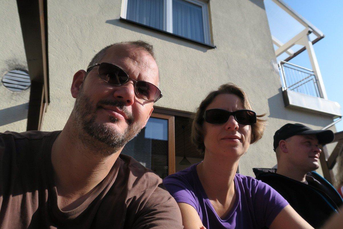 Wir dann mal so vom Travellerblog bei der Brauerei Schroll