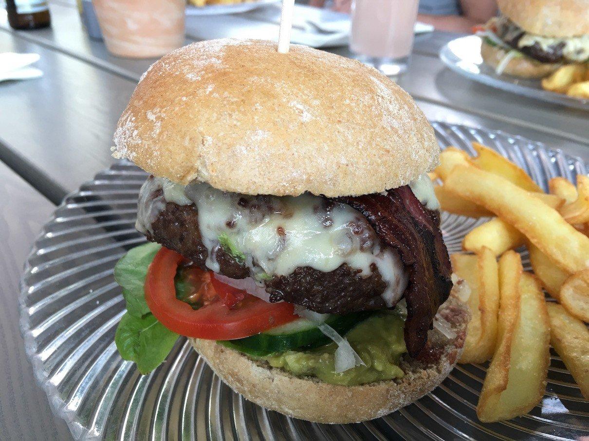 Burger im Hotel Alte Werft, Gewinner des Burgerwettbewerbs