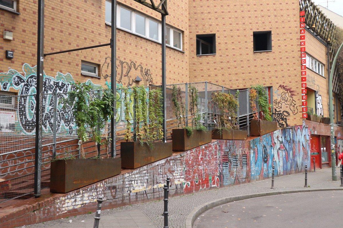 Ina Kindergarten in einem ehemaligen Parkhaus in Kreuzberg (Foto: Gesine Hermann)
