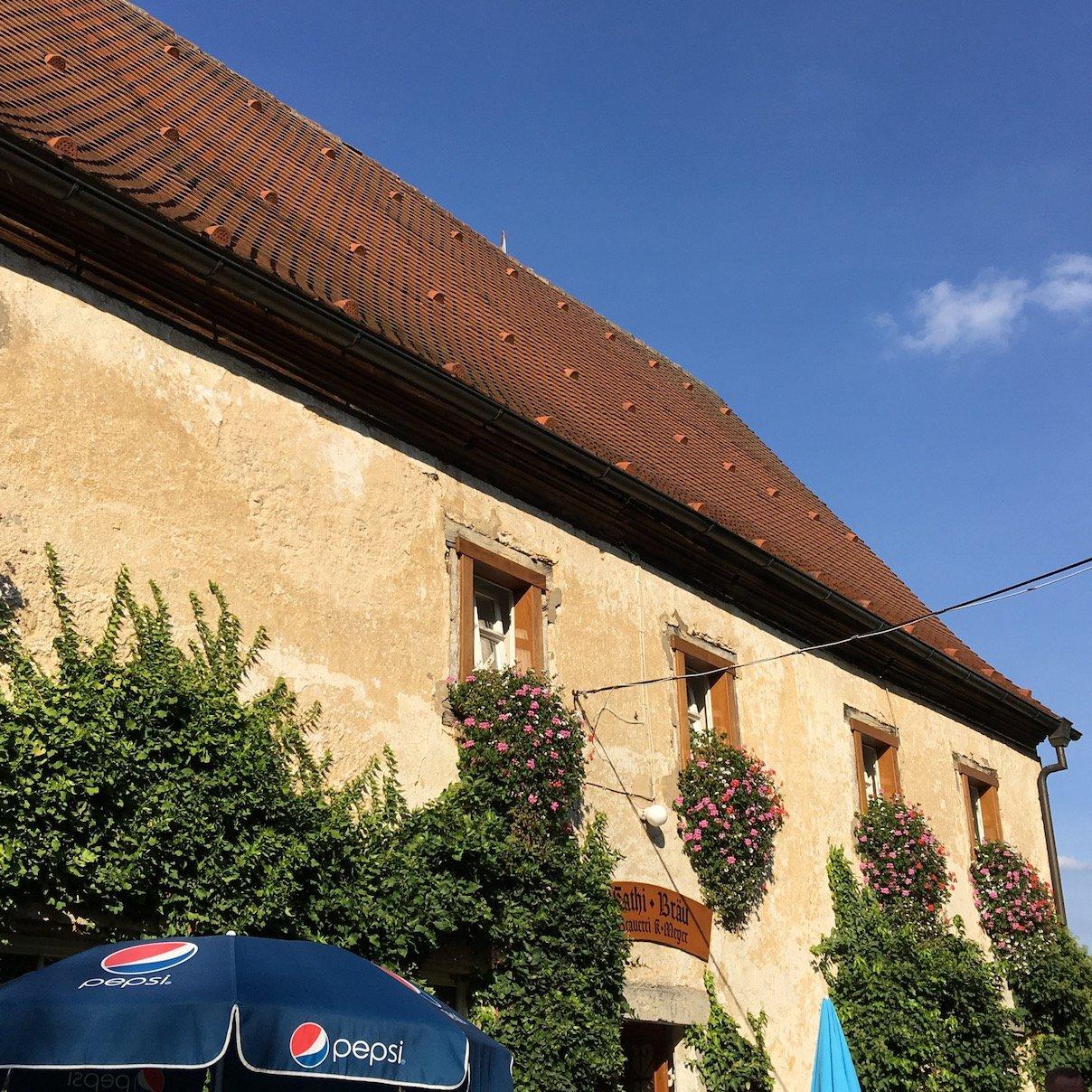 Der Gasthof von Kathi Bräu