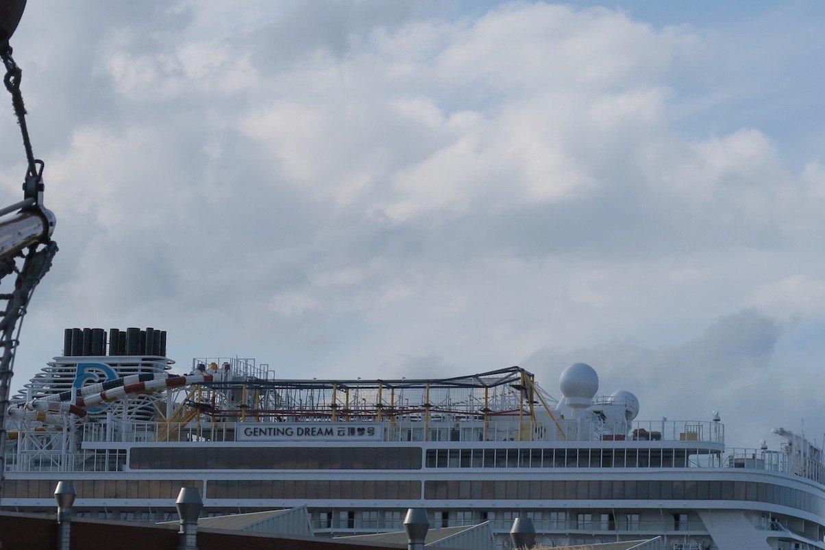 Genting Dream in der Meyer Werft Papenburg