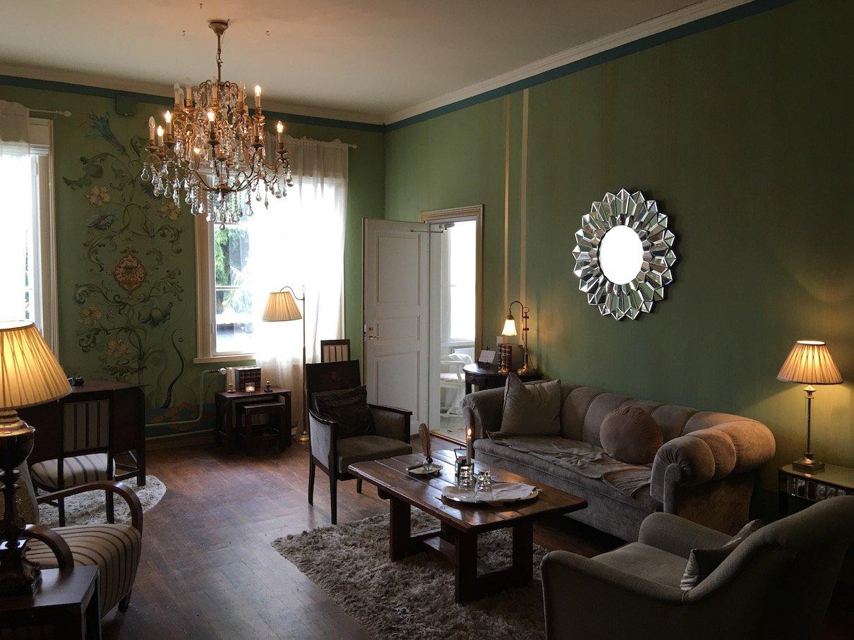 Aufenthaltsraum im Hotel Onni in Porvoo