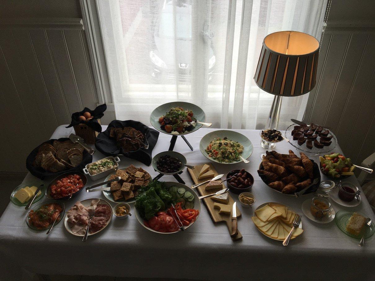 Ein paar extrem leckere Happen zum Essen im Hotel Restaurant Onni in Porvoo