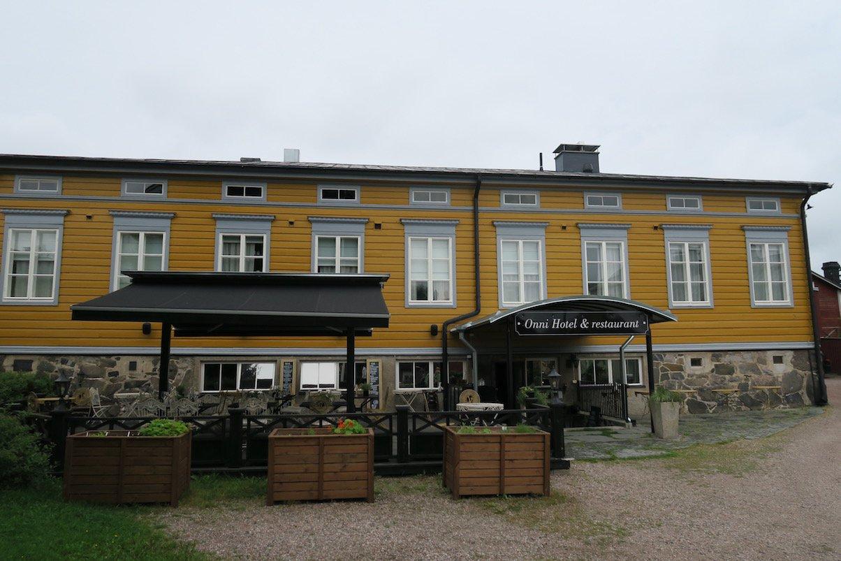 Das Hotel Restaurant Onni in Porvoo