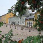Malerischer Platz in Porvoo