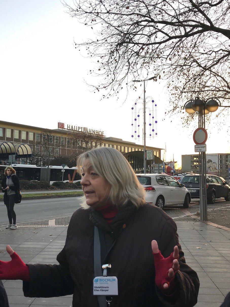 Gästeführerin Ellen Kämper in Bochum