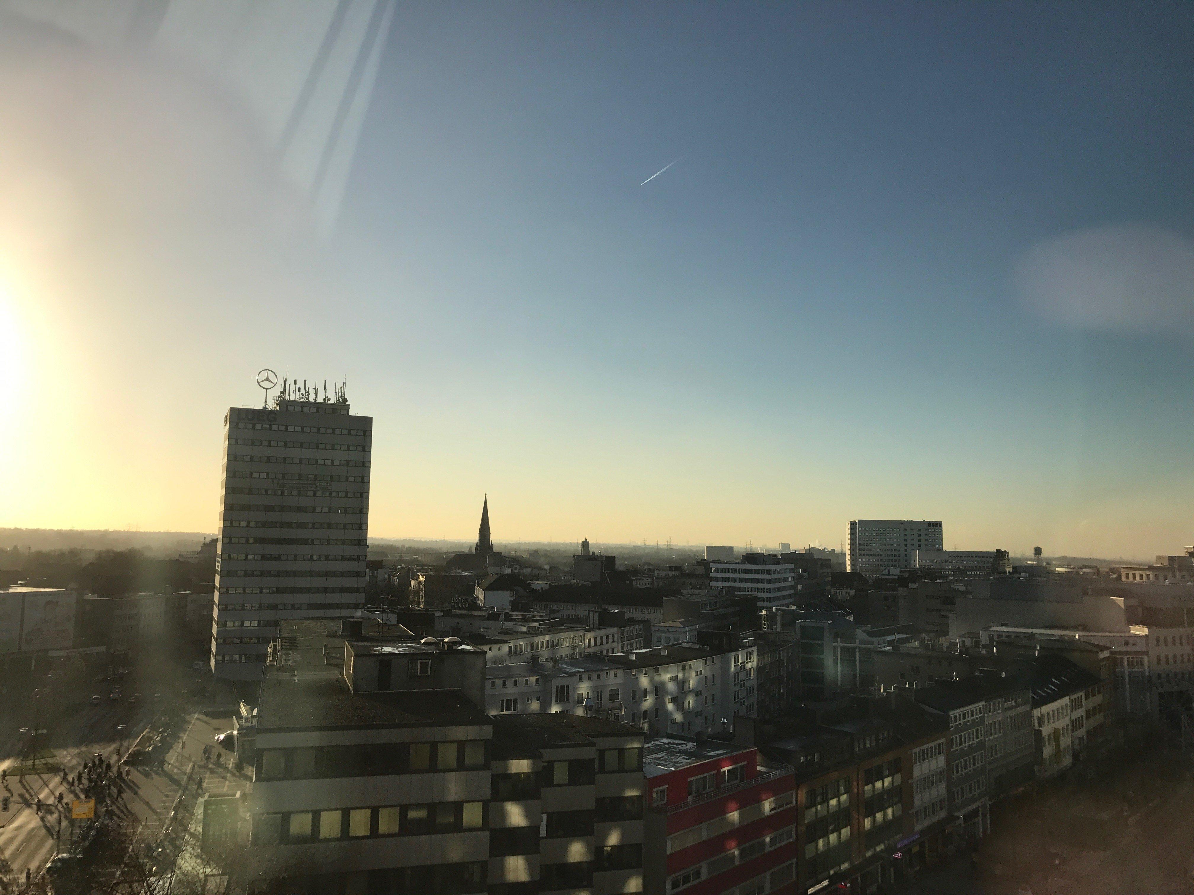 Sonnenaufgang über Bochum