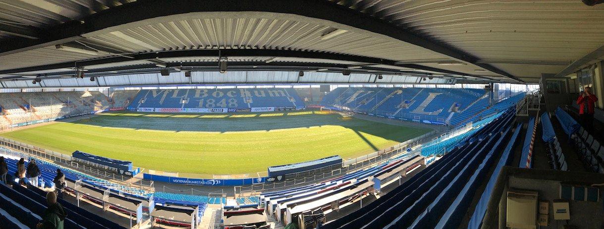 Panorama im Ruhrstadion