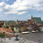 Einen tollen Aus- und Überblick über Warschau gibt es vom Taras widokowy aus