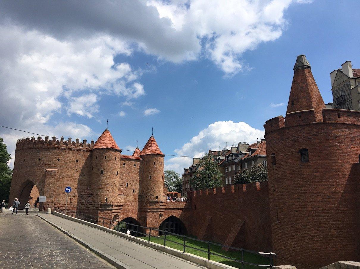 Barbakan in Warschau