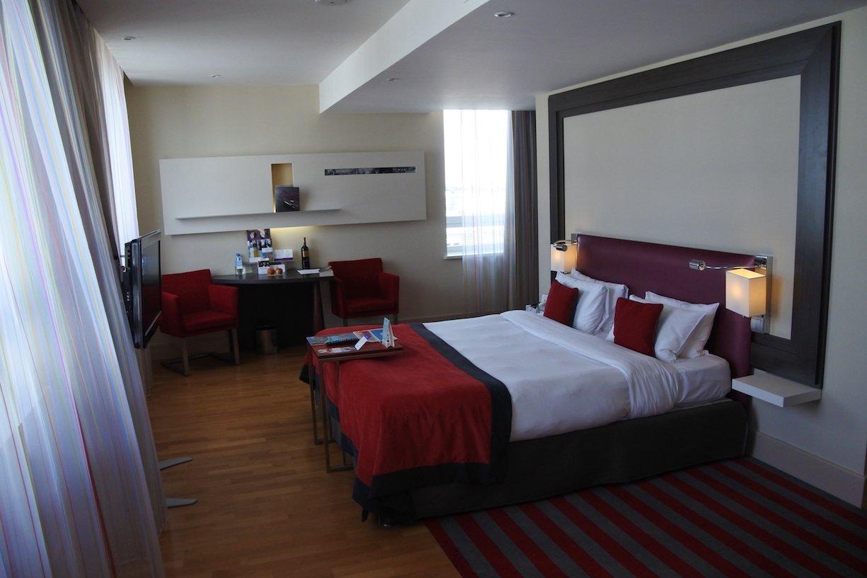 Blick durch meine Suite im Hotel Mercure Warszawa Grand