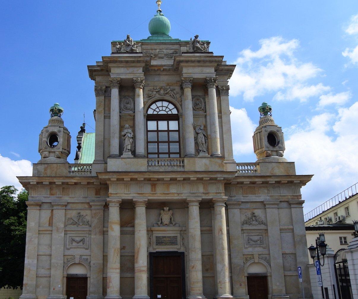 Die Karmeliterkirche in Warschau