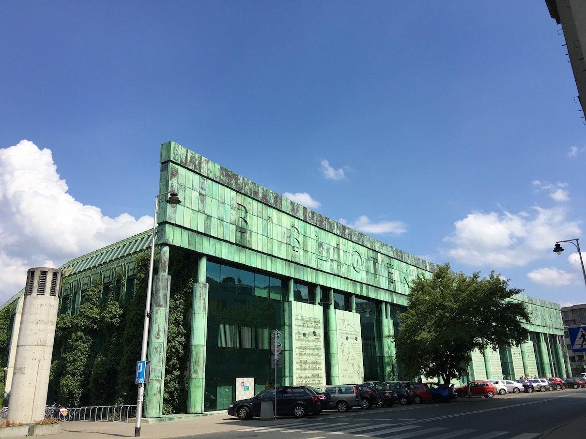 Universitätsbibliothek in Warschau