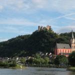 Oberwesel mit der Schönburg