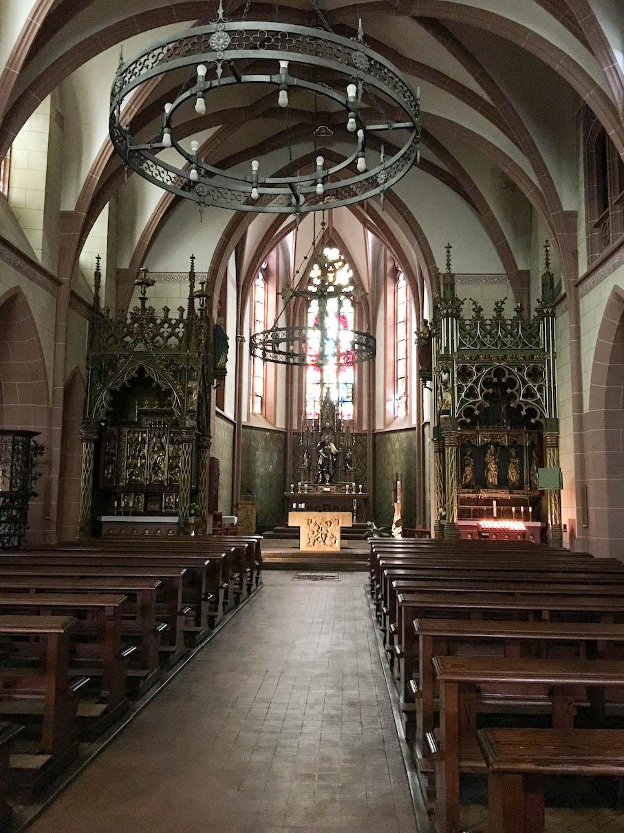 Ein Blick in die Rochuskapelle