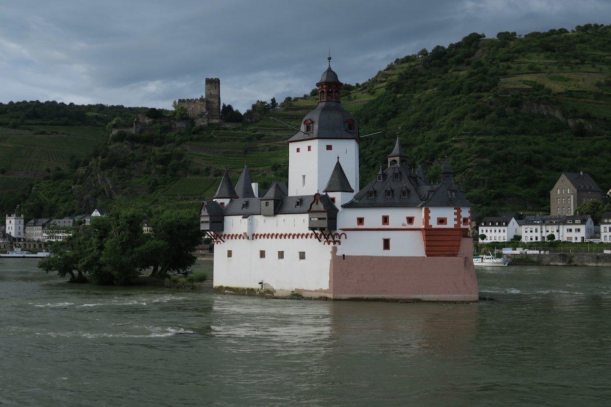 Die ehemalige Zollburg Burg Pfalzgrafenstein
