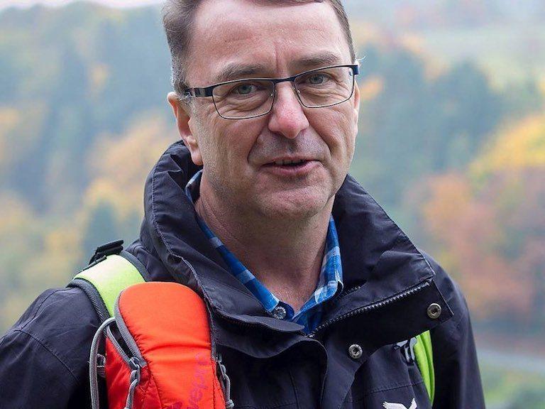 Instagramer Jörg Thames - natürlich in Wanderkluft :)