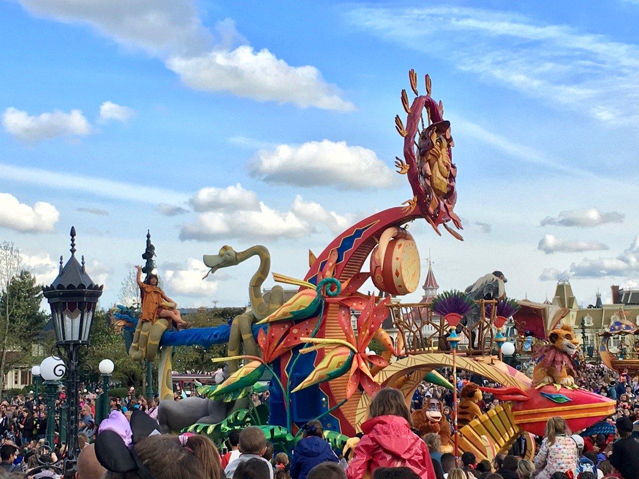 Der König der Löwen in der Parade