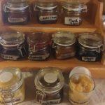 Marmeladenauswahl im Gehrnerhof