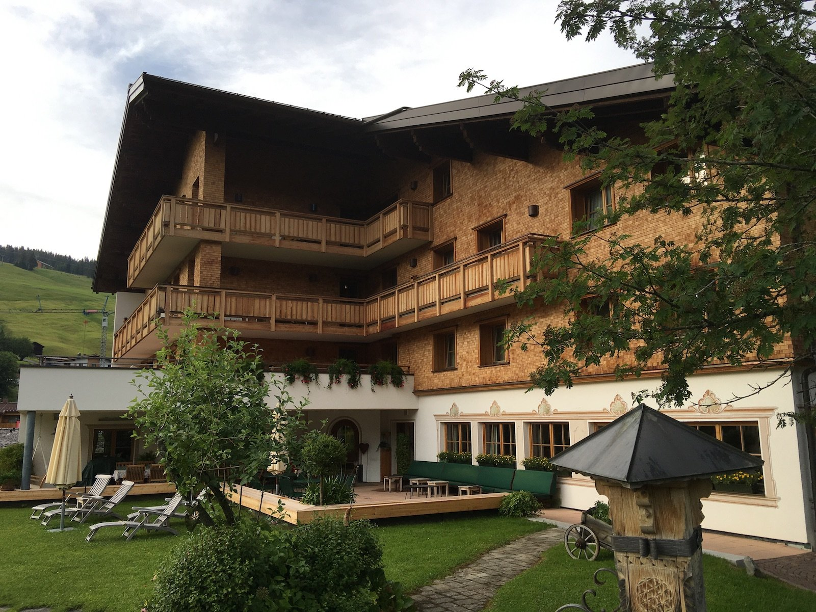 Das Hotel Aurora in Lech am Arlberg